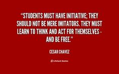 Discover and share Cesar Chavez Quotes. Explore our collection of motivational and famous quotes by authors you know and love. Cesar Chavez Quotes, Cesar Chavez Day, Music Quotes, Me Quotes, Interior Design Quotes, Student Centered Learning, 3rd Grade Social Studies, Maya Angelou Quotes, Encouragement Quotes