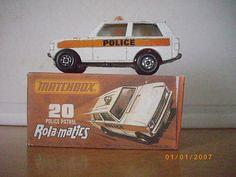 Matchbox Lesney No 20 Police Patrol Boxed - http://www.matchbox-lesney.com/?p=4873
