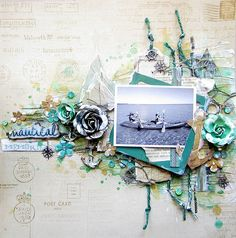 Keren Tamir's Gallery: Nautical Memories- Flying Unicorn Ustream layout