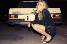 Rachel Ruff photographed by Jesse Koska Female Of The Species, Daimler Benz, Mercedes Benz Amg, Hot Cars, Fashion Addict, Pretty Woman, Michael Kors Jet Set, Lady, Model