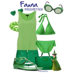 """Fauna Summertime"" by cheshirehatter on Polyvore"