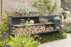 Vind afbeeldingen van Landelijk Tuin: WWOO Concrete Outdoor Kitchen. Ontdek de mooiste foto's & inspiratie en creëer uw droomhuis.