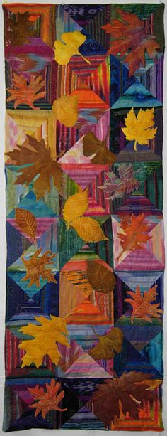 Sally Gould Wright - now this is what I call gorgeous. Sallywrightquilts...