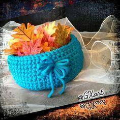 GX ArtPaper: Stand Basket Crochet