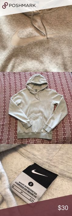 Nike Sweatshirt Used condition Nike Sweatshirt. Has small pills on it but worth work easily could be fixed. Has a lot of life left it's just too small for me now. Nike Tops Sweatshirts & Hoodies