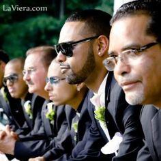 Groomsmen before the ceremony.