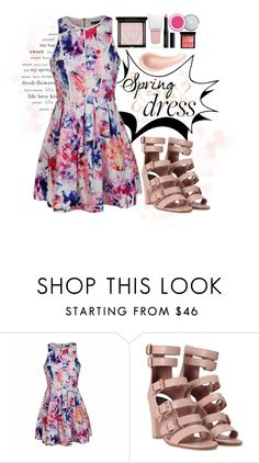 """""""Sweet Spring Dress"""" by isis-anubis5 ❤ liked on Polyvore featuring Ally Fashion, Laurence Dacade, Givenchy and NARS Cosmetics"""