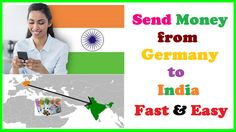Send Money from Germany to India Fast & Easy