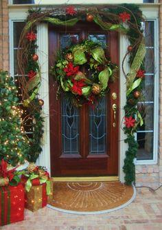christmas front door ( i)
