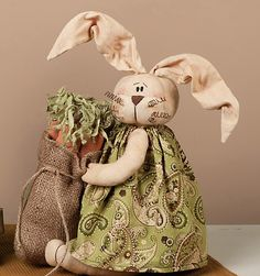 Check out the deal on Logan The Gatherer Easter Bunny Doll at Primitive Home Decors