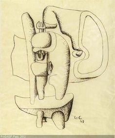 Etude de sculpture ,Le Corbusier