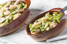 Houby se zelenými fazolkami a šalvějí | Recepty | KetoDiet CZ