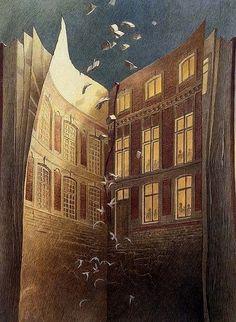 """""""Alta Plana - Cités obscures"""" ~ by Francois Schuiten"""