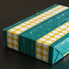 """Two sheets of 18"""" x 26"""" gift wrapping paper printed on uncoated 80lb text weight recycled paper.  Offset printed in Kansas City, Missouri, by Hammerpress."""