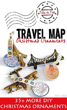 Easy DIY travel map
