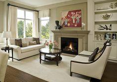 Fraser Portobello with overmantel Cast Concrete Fireplace Mantel, Solus Decor