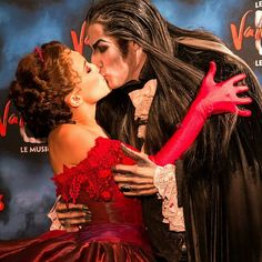 This lovestory is real❤ Sarah & Krolock forever♡ #lebaldesvampires #tanzdervampire #kiss #love #vampire