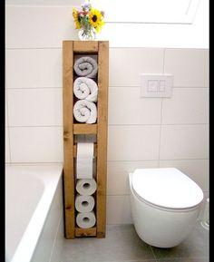 Klopapierhalter - Toilettenpapierhalter, Handtuchhalter - ein Designerstück von KlausHeilmann bei DaWanda