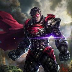 Man of Steel, Dark Superman Batman Vs Superman, Mundo Superman, Superman Symbol, Superman Stuff, Doomsday Superman, Arte Dc Comics, Dc Comics Art, Comics Girls, Comic Book Characters