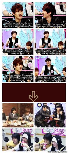 What Donghae want Donghae get.... even the precious strawberry milk... #eunhae