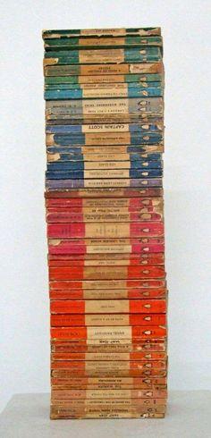 Vintage Penguin Paperbacks stylish patina, virginia, interior design, www.stylishpatina...