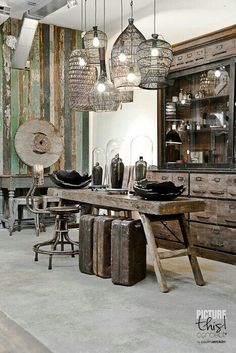 Industrial Décor | Your Personal Home Makeover Project | Project Difficulty: Simple | A New Way To Shop | Your Personal Home Decor Specialist | You will Love Our New Home Decor Shopping Experience | www.MaritimeVintage.com