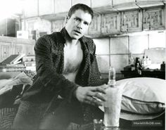 Blade Runner - Behind the scenes photo of Harrison Ford