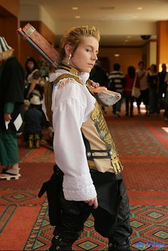 Balthier | Final Fantasy XII | Credits to the cosplayer, I don't own the picture.
