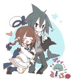 AIDIA Kawaii Chibi, Kawaii Anime, The Gray Garden, Rpg Horror Games, Cute Games, Grey Gardens, Rpg Maker, Estilo Anime, Fanart