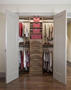 Master Bedroom Closet In A Tampa Bay Area Model Home. White With No Backing  | Tampa Custom Closet | Pinterest | Custom Closets, Master Bedroom Closet  And ...