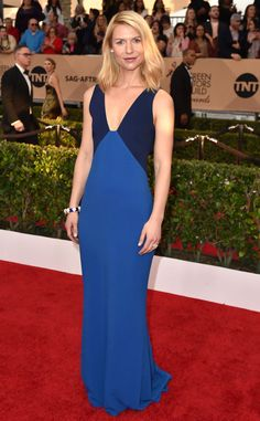 Claire Danes in Stella McCartney from SAG Awards 2016: Red Carpet Arrival