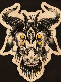 goat head tattoo ideas  | Goats Head Tattoo
