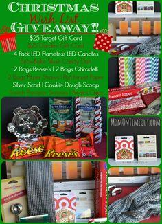 Christmas Wish Basket Giveaway – My Favorite Things!
