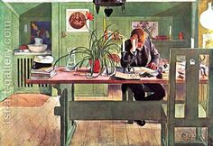 The Oldest Son Carl Larsson | Oil Painting Reproduction | 1st-Art ...