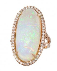 21 White Opal Jewelry Pieces That Will Make You Shine On Your Wedding Day - Big Time