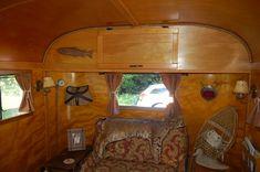 vintage camper interior | Vintage Trailer Interiors From The 1940's