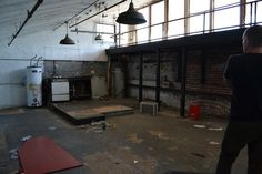 The future kitchen and classroom space!     We definitely need some help...Help us make our dream come true! http://www.kickstarter.com/projects/gastronomegallery/gastronome-gallery-culinary-lab-hub