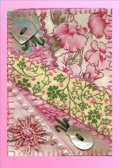 I ❤ crazy quilting & embroidery . . .