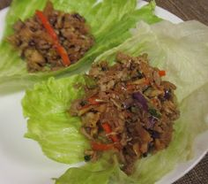 Debbi Does Dinner... Healthy & Low Calorie: Asian Lettuce Wraps - 17 Day Diet - Day 7