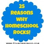 25 Things I Love About Homeschool