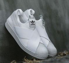 6c1c5adb9c0e Adidas Superstar Slip On W White Puttee S81338 Adidas Sneakers