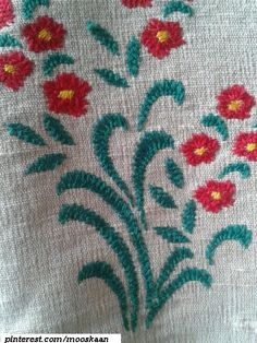 Closed Herringbone hand embroidery with silk yarn on jute. Pic of single pattern. These were repeated in mirror images along a row. Embroidery Stitches, Hand Embroidery, Embroidery Designs, Herringbone Stitch, Mirror Image, Jute, Needlework, Projects To Try, Blouses