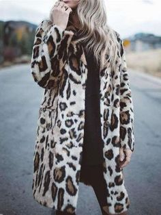 Latest fashion trends in women's Coats. Shop online for fashionable ladies' Coats at Floryday - your favourite high street store. Evening Dresses With Sleeves, Belted Coat, Blazer Fashion, Fashion Prints, Long Sleeve, Fur Coats, Hooded Coats, Plush, Revers