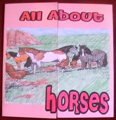 All About Horses Lapboard or display.