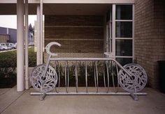 East Portland Community Center: Bike Racks | Public Art Archive