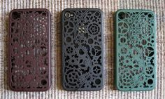 Designer Steampunk iPhone 4 Cogs and Gears Case