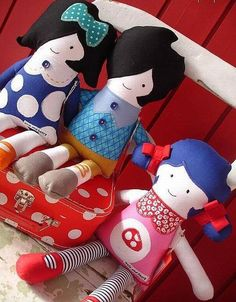 Evie and Henry Dolls Perfect for little girls who love dolls. Indi's christmas present?