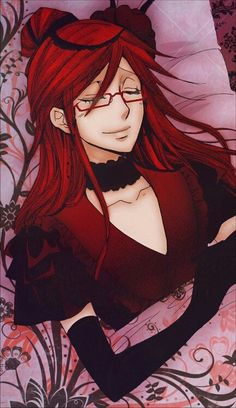 Grell Sutcliff the perfect start to a convo this is toats a dude