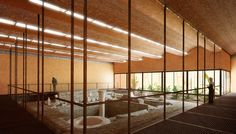 Gallery - Kéré Architecture to Design Protective Shelter for Meroe Royal Baths in Sudan - 1