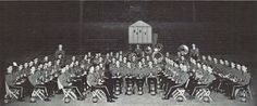 1932-33 University band.  From the 1933 Oregana (University of Oregon yearbook).  www.CampusAttic.com